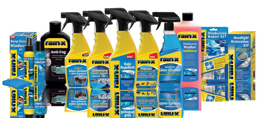 All Rain-X products