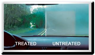 Rain-X Anti-Fog Example