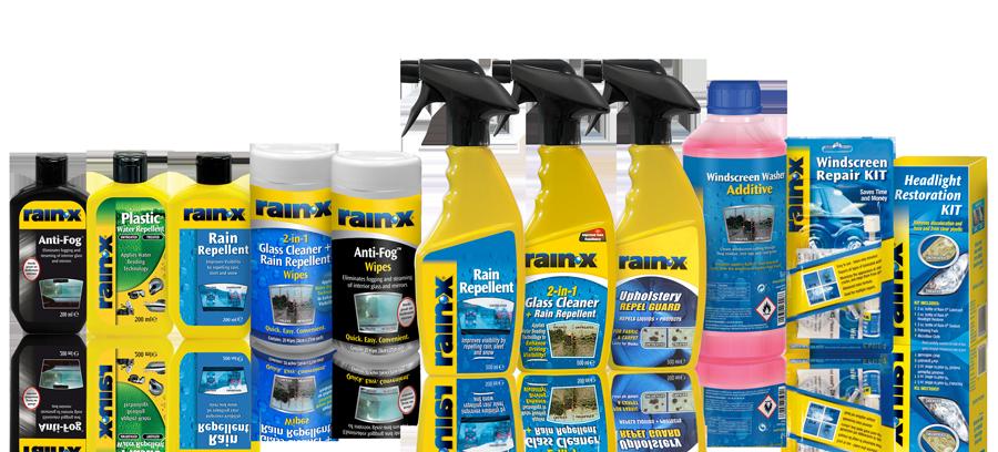 Rain-X Products Line