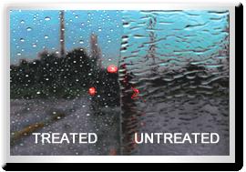 Rain-X Rain Repellent Example