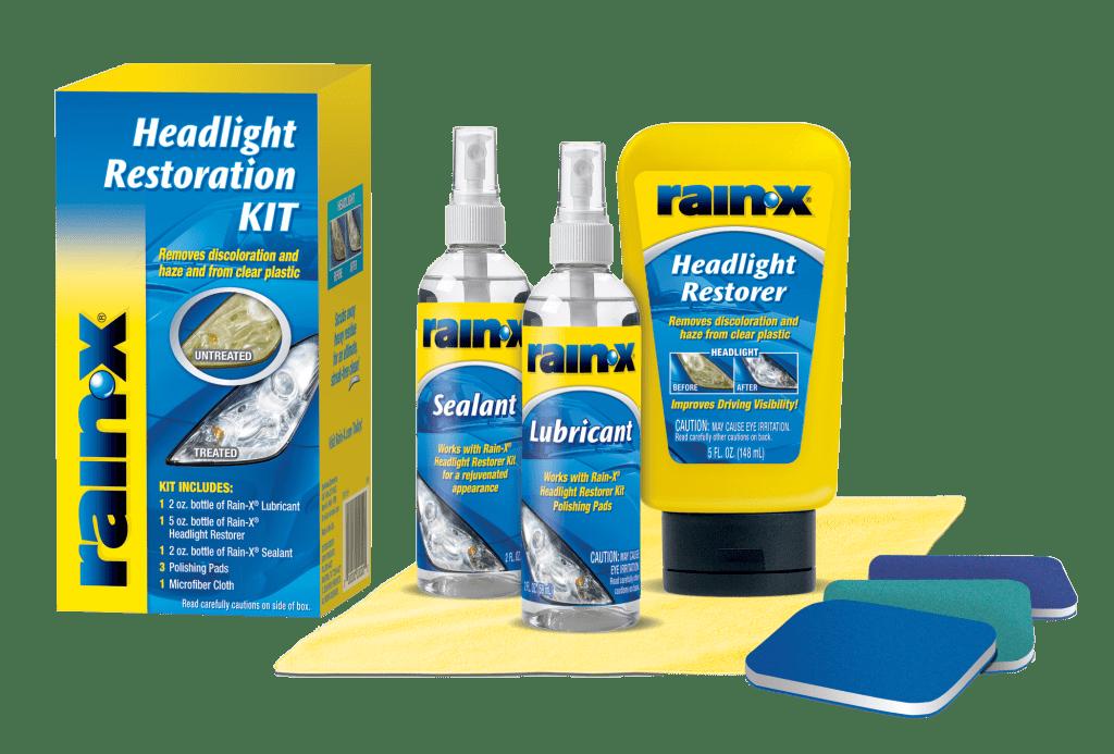 Rain-X Headlight Restoration Contents